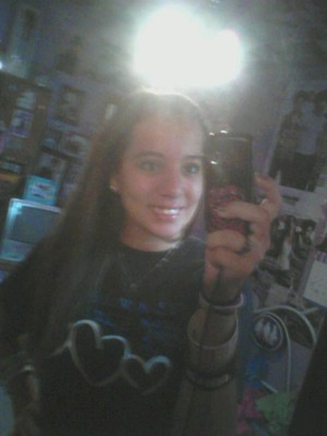 always smile..cuz you never no someone may just fall in love with it(:
